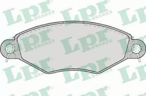 LPR 05P708 - Piduriklotsi komplekt,ketaspidur multiparts.ee