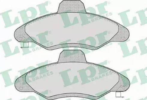 LPR 05P717 - Piduriklotsi komplekt,ketaspidur multiparts.ee