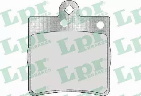 LPR 05P726 - Piduriklotsi komplekt,ketaspidur multiparts.ee