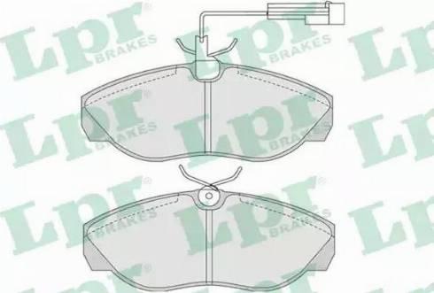 LPR 05P774 - Piduriklotsi komplekt,ketaspidur multiparts.ee