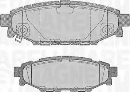 Magneti Marelli 363916060700 - Piduriklotsi komplekt,ketaspidur multiparts.ee