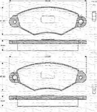 Cifam 822-253-0 - Piduriklotsi komplekt,ketaspidur multiparts.ee