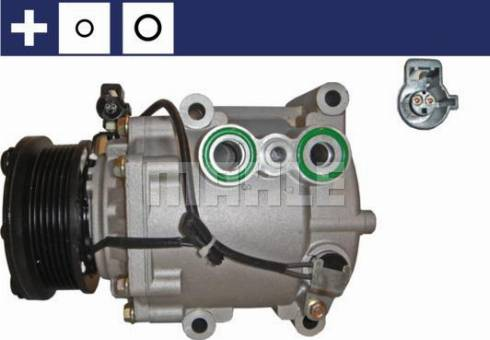 Mahle Original ACP 106 000S - Kompressor,kliimaseade multiparts.ee