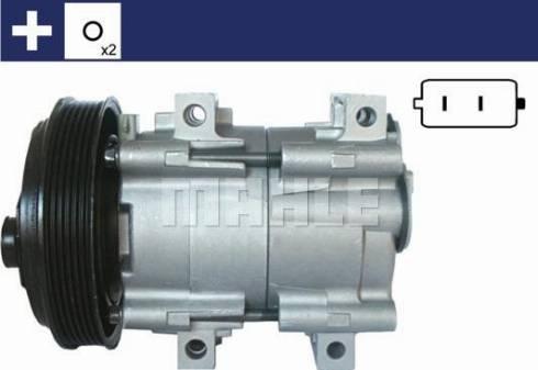 Mahle Original ACP 843 000S - Kompressor,kliimaseade multiparts.ee