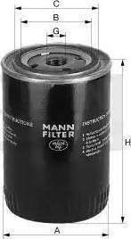 Mann-Filter W 712/4 - Filter,tööhüdraulika multiparts.ee