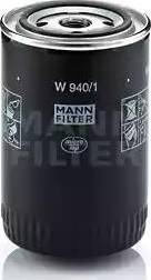Mann-Filter W 940/1 - Filter,tööhüdraulika multiparts.ee