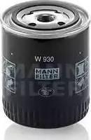 Mann-Filter W 930 - Filter,tööhüdraulika multiparts.ee