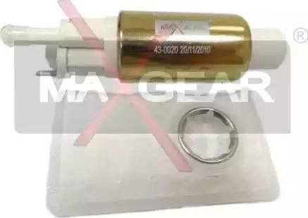 Maxgear 43-0020 - Kütus-etteanne multiparts.ee