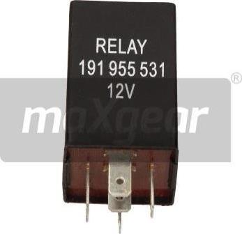 Maxgear 50-0010 - Relee,kojamehed-pesu-intervall multiparts.ee
