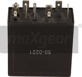 Maxgear 50-0221 - Relee,kojamehed-pesu-intervall multiparts.ee