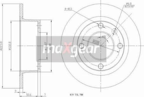 Maxgear 19-0978 - Piduriketas multiparts.ee