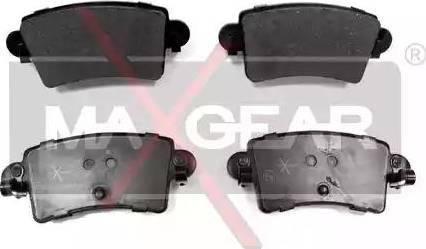Maxgear 19-0494 - Piduriklotsi komplekt,ketaspidur multiparts.ee