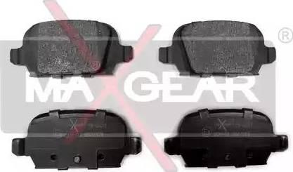 Maxgear 19-0451 - Piduriklotsi komplekt,ketaspidur multiparts.ee