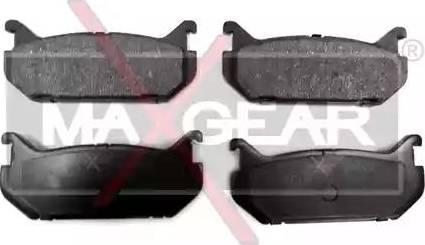 Maxgear 19-0460 - Piduriklotsi komplekt,ketaspidur multiparts.ee