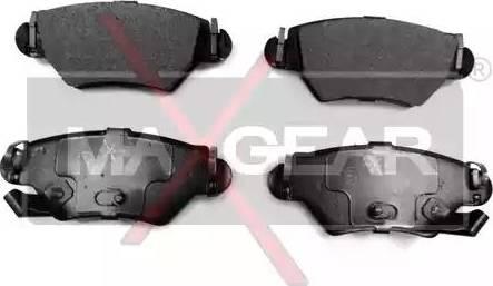 Maxgear 19-0468 - Piduriklotsi komplekt,ketaspidur multiparts.ee
