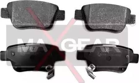 Maxgear 19-0462 - Piduriklotsi komplekt,ketaspidur multiparts.ee