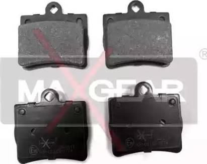 Maxgear 19-0411 - Piduriklotsi komplekt,ketaspidur multiparts.ee