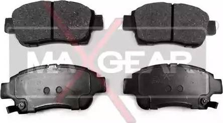 Maxgear 19-0489 - Piduriklotsi komplekt,ketaspidur multiparts.ee