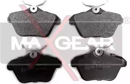 Maxgear 19-0433 - Piduriklotsi komplekt,ketaspidur multiparts.ee