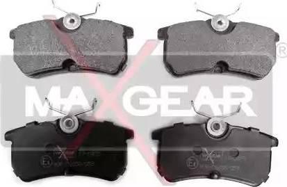 Maxgear 19-0425 - Piduriklotsi komplekt,ketaspidur multiparts.ee