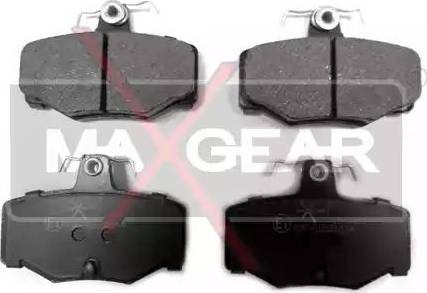 Maxgear 19-0421 - Piduriklotsi komplekt,ketaspidur multiparts.ee