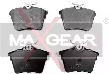 Maxgear 19-0423 - Piduriklotsi komplekt,ketaspidur multiparts.ee