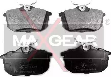 Maxgear 19-0427 - Piduriklotsi komplekt,ketaspidur multiparts.ee