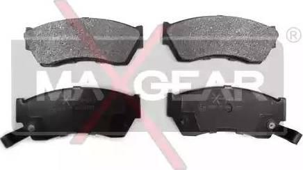 Maxgear 19-0476 - Piduriklotsi komplekt,ketaspidur multiparts.ee