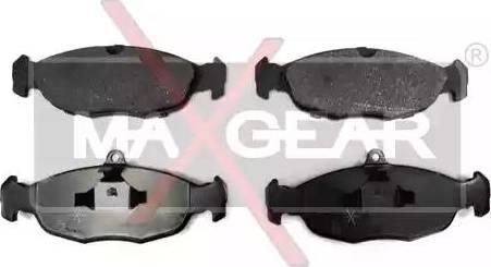 Maxgear 19-0592 - Piduriklotsi komplekt,ketaspidur multiparts.ee
