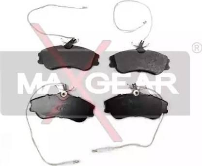 Maxgear 19-0549 - Piduriklotsi komplekt,ketaspidur multiparts.ee