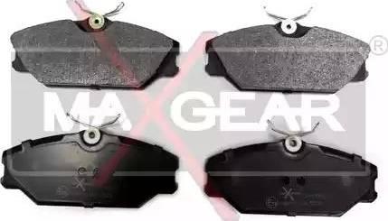 Maxgear 19-0542 - Piduriklotsi komplekt,ketaspidur multiparts.ee