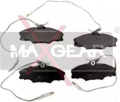 Maxgear 19-0551 - Piduriklotsi komplekt,ketaspidur multiparts.ee