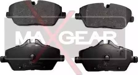 Maxgear 19-0564 - Piduriklotsi komplekt,ketaspidur multiparts.ee