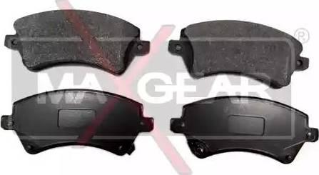 Maxgear 19-0563 - Piduriklotsi komplekt,ketaspidur multiparts.ee