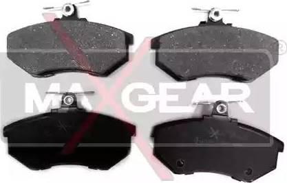 Maxgear 19-0505 - Piduriklotsi komplekt,ketaspidur multiparts.ee