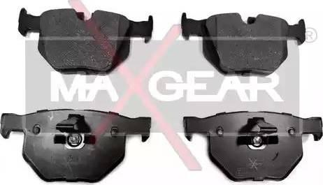 Maxgear 19-0511 - Piduriklotsi komplekt,ketaspidur multiparts.ee