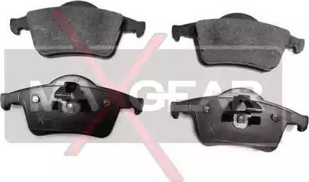 Maxgear 19-0512 - Piduriklotsi komplekt,ketaspidur multiparts.ee
