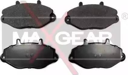 Maxgear 19-0589 - Piduriklotsi komplekt,ketaspidur multiparts.ee