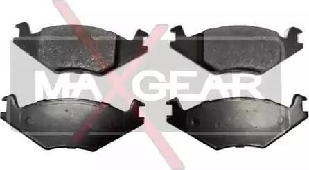 Maxgear 19-0585 - Piduriklotsi komplekt,ketaspidur multiparts.ee