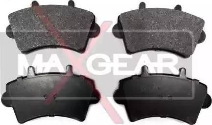 Maxgear 19-0586 - Piduriklotsi komplekt,ketaspidur multiparts.ee