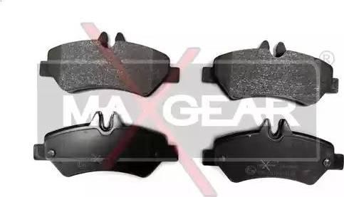 Maxgear 19-0580 - Piduriklotsi komplekt,ketaspidur multiparts.ee