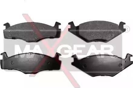 Maxgear 19-0583 - Piduriklotsi komplekt,ketaspidur multiparts.ee