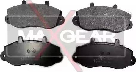 Maxgear 19-0587 - Piduriklotsi komplekt,ketaspidur multiparts.ee