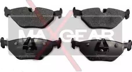 Maxgear 19-0526 - Piduriklotsi komplekt,ketaspidur multiparts.ee