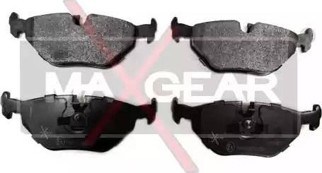 Maxgear 19-0527 - Piduriklotsi komplekt,ketaspidur multiparts.ee