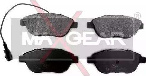 Maxgear 19-0577 - Piduriklotsi komplekt,ketaspidur multiparts.ee