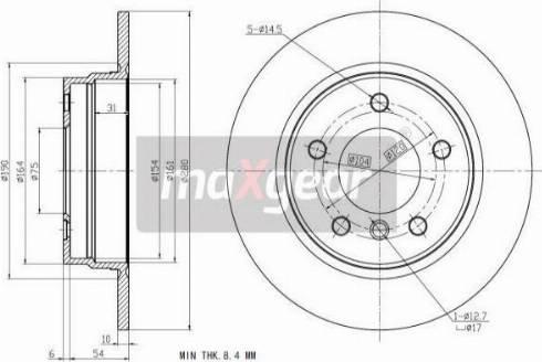 Maxgear 19-0693MAX - Piduriketas multiparts.ee