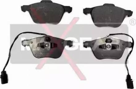 Maxgear 19-0665 - Piduriklotsi komplekt,ketaspidur multiparts.ee