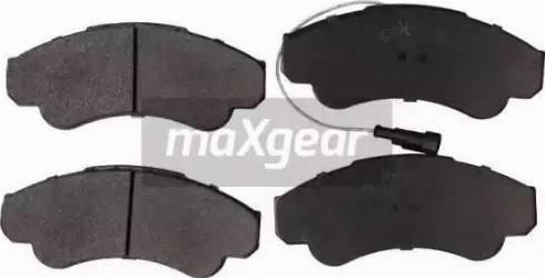Maxgear 19-0668 - Piduriklotsi komplekt,ketaspidur multiparts.ee