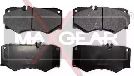 Maxgear 19-0618 - Piduriklotsi komplekt,ketaspidur multiparts.ee